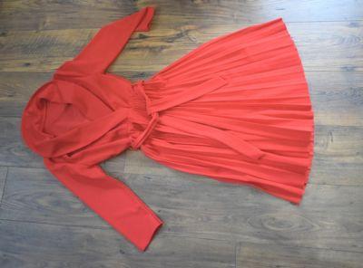 Suknie i sukienki Śliczna plisowana sukienka 36 38