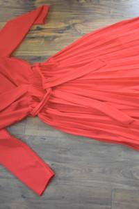 Śliczna plisowana sukienka 36 38