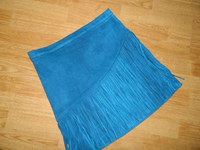 Spódnice Missguided krótka spódnica frędzle roz 40