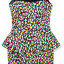MOHITO kolorowa sukienka baskinka roz 36