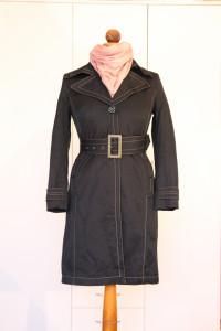 Czarny płaszcz Monnari do kolan roz 36 S stan idealny
