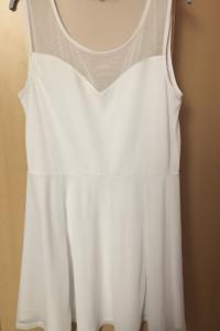 Biała sukienka H&M 38...