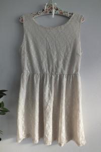 Koronkowa sukienka r 42 44...