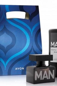 Avon Man woda toaletowa żel zestaw prezentowy