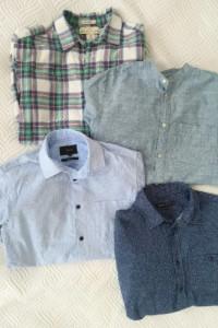 Zestaw 4 koszule męskie M Bershka Reserved H&M casual...