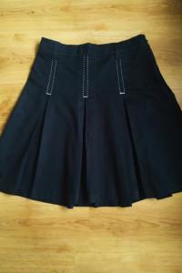 Czarna spódnica układana F&F 12 40 L...