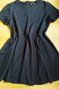 Czarna sukienka H&M XL 42...