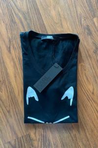 Czarny T shirt Karl Lagerfeld...