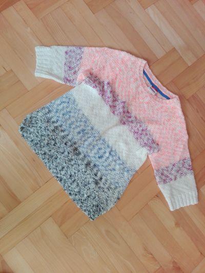 Swetry Kolorowy sweterek dziecięcy XS swetr