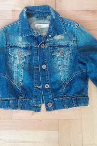 Dżinsowa katanka krótka S XS jeans kurteczka