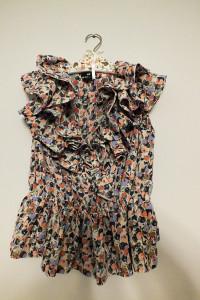 Kolorowa bluzka H&M z falbaną r 3840...