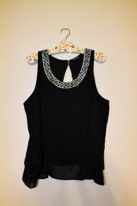 Elegancka bluzka z cyrkoniami i kamieniami TopShop r 40...