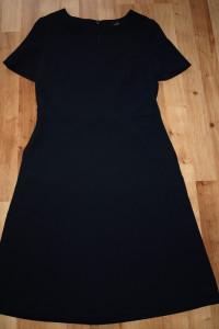 Granatowa sukienka S M...