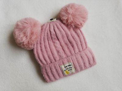 Czapki czapka zimowa dziecięca pompony