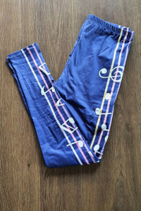 Nowe legginsy w nutki rozmiar uniwersalny