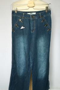 Spodnie Proste Nogawki NOWE Dzinsowe Vero Moda M 38...