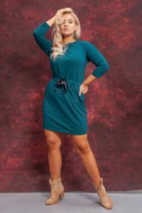 Sportowa sukienka wiązanie 42 44 46 jakość ZIELONA SZARA...