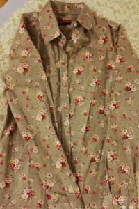 koszula w kwiatowy print