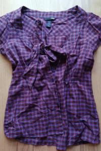 koszula w print wiązana...