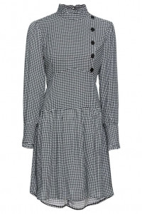 Sukienka w kratkę retro styl vintage...