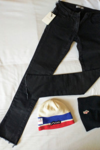Spodnie jeansy czarne Balmain