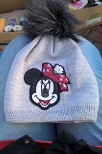czapka z myszką micki nowa...