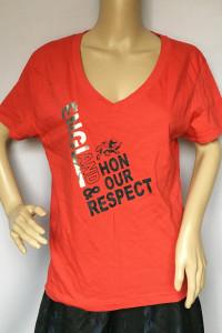Bluzka Czerwona Koszulka England XL 42 NOWA Napisy...
