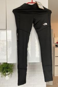 The North Face nowe czarne legginsy treningowe r