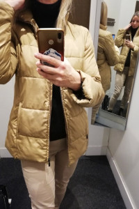 Lekka ciepła kurtka