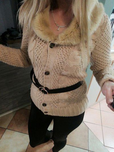 Swetry Zara ciepły sweter