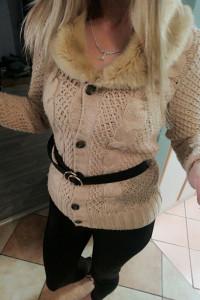 Zara ciepły sweter