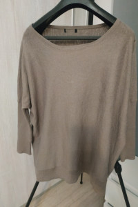 Szary sweter oversize H&M XL...
