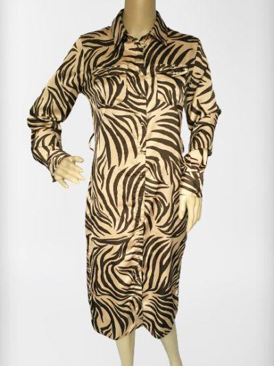 Suknie i sukienki Sukienka Zeberka Lipsy London S 36 Koszulowa Elegancka