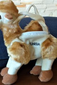 Torebkatorebeczka maskotka wielbłąd z Tunezji...