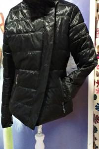 Kurtka czarna taliowana zimowa Jobanni faschion apparel L...