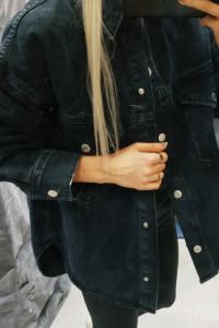 Kurtka jeansowa Zara kurtka koszulowa XS s m l xl...