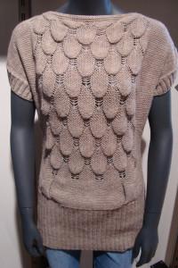Brązowy Sweter Tunika S...