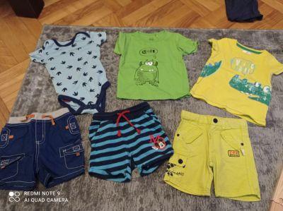 Koszulki, podkoszulki Lato chłopiec 80cm