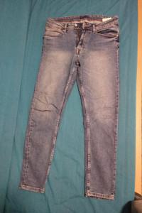Jeansy Zara Man niebieskie rozmiar EUR 44 USA 34