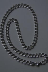 Naszyjnik ładna kolia ponad 7 gr srebra 925