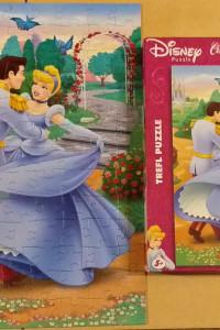 Puzzle trefl Disney Cinderelle Princes Kopciuszek 100...