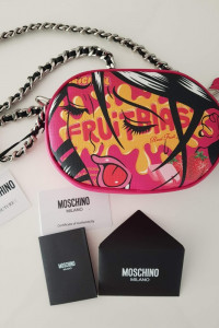 Unikat torebka nowa moschino couture Jeremy Scott kolekcja jesi...