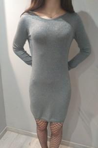Piękna srebrna sukienka...