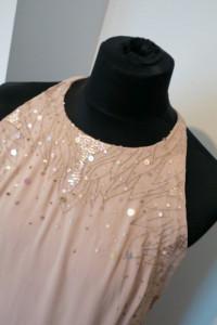 Sukienka sylwestrowa pudrowy róż New Look rozm 44...
