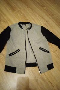 Bluza czarno szara S