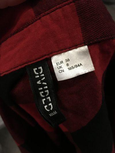 Koszule Koszula w kratę z H&M rozmiar 36