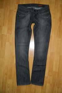 CROSS Isidora czarne spodnie jeansowe roz W29L34...