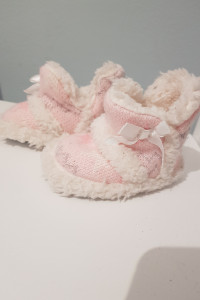 Zimowe ciepłe buciki