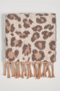 Szalik w leopardzie cętki