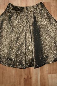 Złota spódnica XS...